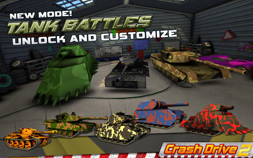 Crash Drive 2 3D racing cars screenshots 4