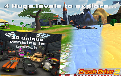 Crash Drive 2 3D racing cars screenshots 6