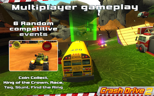 Crash Drive 2 3D racing cars screenshots 7