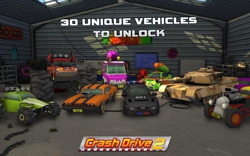 Crash Drive 2 3D racing cars screenshots 8