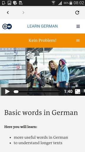 DW Learn German – A1 A2 B1 and placement test 1.0 screenshots 4