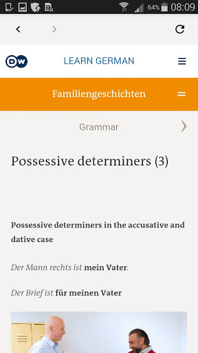 DW Learn German – A1 A2 B1 and placement test 1.0 screenshots 5