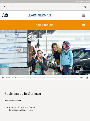 DW Learn German – A1 A2 B1 and placement test 1.0 screenshots 6