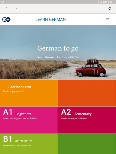 DW Learn German – A1 A2 B1 and placement test 1.0 screenshots 8