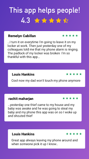 Dont Touch My Phone – 1 Anti Theft Alarm 1.69 screenshots 8