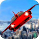 Download Futuristic Flying Car Ultimate – Aim and Fire APK Unbegrenztes Geld