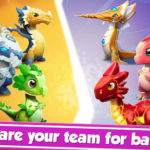 Free Download Dragon Mania Legends 3.4.0r APK Full Unlimited