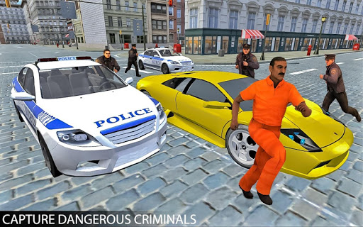 Drive Police Car Gangsters Chase Crime 1.0 screenshots 1