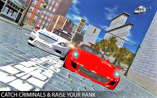 Drive Police Car Gangsters Chase Crime 1.0 screenshots 3