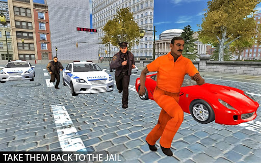 Drive Police Car Gangsters Chase Crime 1.0 screenshots 4