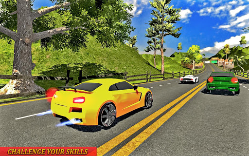 Drive in Car on Highway Racing games 2.2 screenshots 2