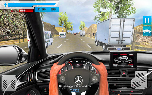 Drive in Car on Highway Racing games 2.2 screenshots 5