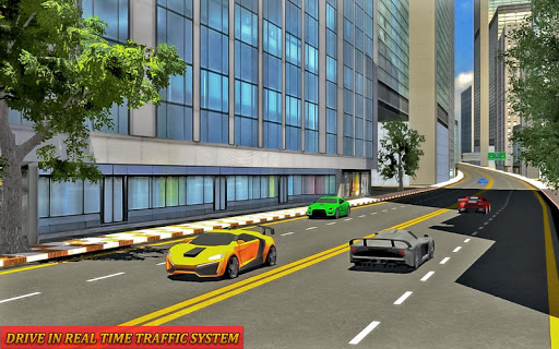 Drive in Car on Highway Racing games 2.2 screenshots 6