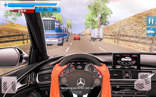 Drive in Car on Highway Racing games 2.2 screenshots 8