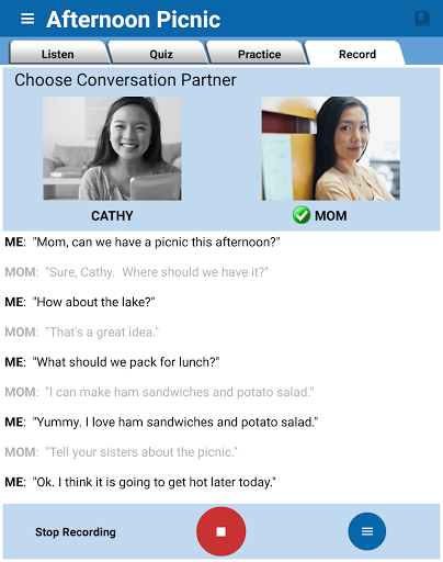 English Conversation Practice 1.2.4 screenshots 12