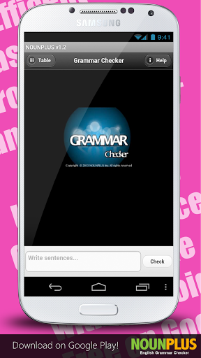 English Grammar Spell Checker 2.2.3 screenshots 2