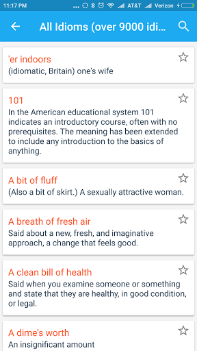 English Idioms amp Phrases 1.1 screenshots 3