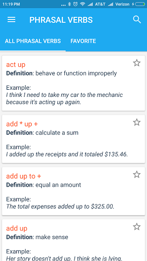 English Idioms amp Phrases 1.1 screenshots 6