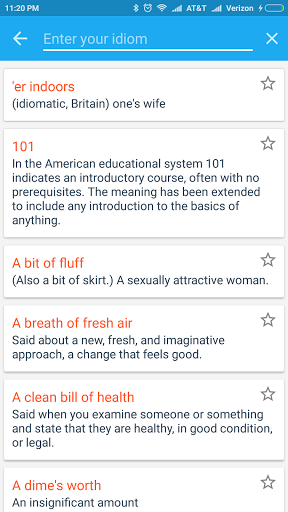 English Idioms amp Phrases 1.1 screenshots 8