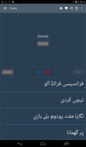 English Urdu Dictionary screenshots 13