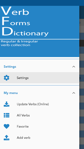 English Verb forms 2.0.7 screenshots 2