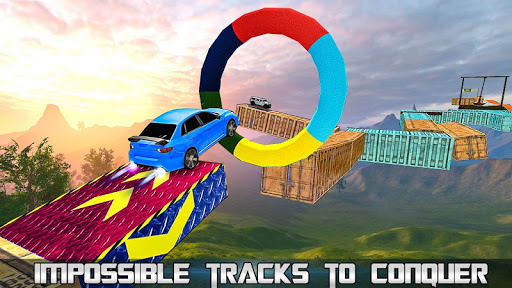 Extreme Impossible Tracks Stunt Car Racing 1.4 screenshots 1