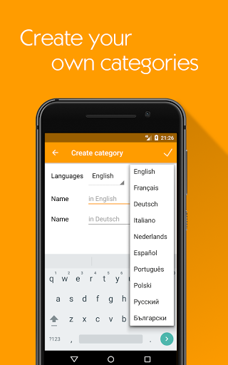Flashcards maker learn languages with Lexilize 1.9.1 screenshots 3