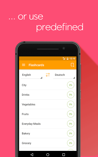 Flashcards maker learn languages with Lexilize 1.9.1 screenshots 4