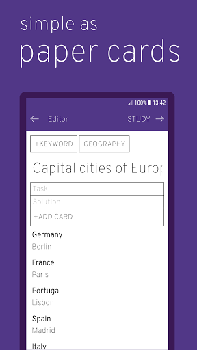 Flashcards – study effectively 2.9 screenshots 3