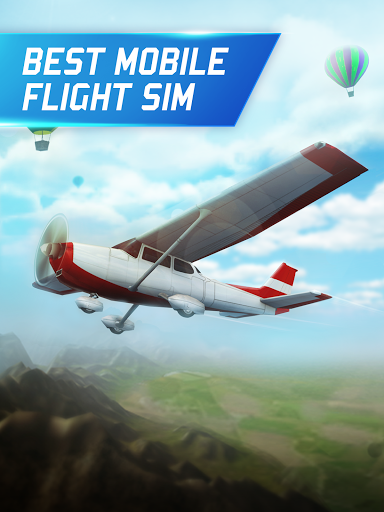 Flight Pilot Simulator 3D Free 1.3.6 screenshots 2
