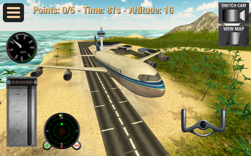 Flight Simulator Fly Plane 3D 1.32 screenshots 11