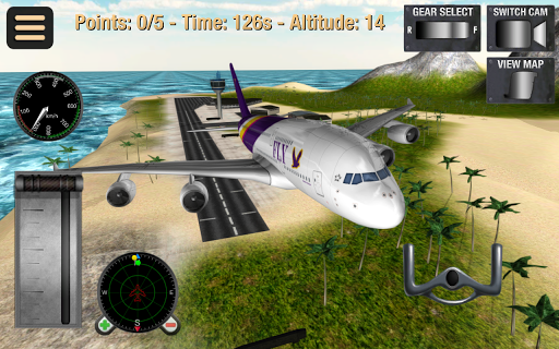 Flight Simulator Fly Plane 3D 1.32 screenshots 9