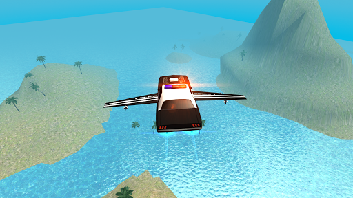 Flying Car Free Police Chase 1 screenshots 4
