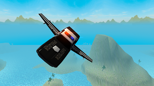 Flying Car Free Police Chase 1 screenshots 5