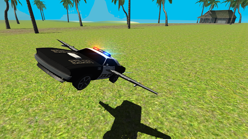 Flying Car Free Police Chase 1 screenshots 6