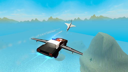 Flying Car Free Police Chase 1 screenshots 7