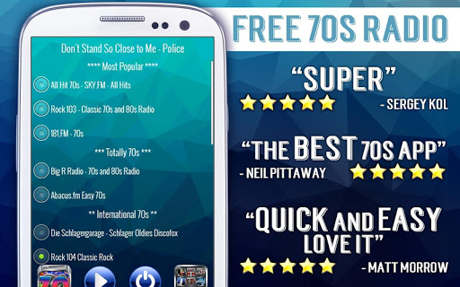 Free 70s Radio 3.0 screenshots 3