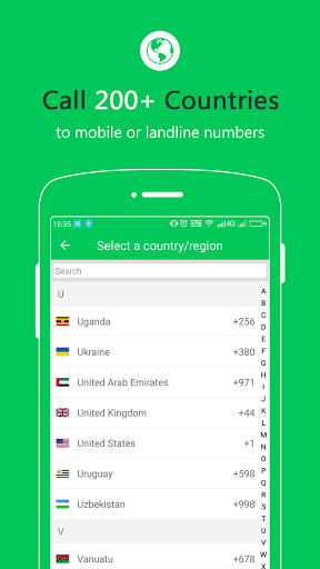 Free Calls – International Phone Calling App 1.3.7 screenshots 3