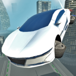 Free Download Futuristic Flying Car Driving APK Full Unlimited