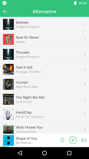 Free Music – Free Song Player Mp3 Streamer 1.5.0 screenshots 3
