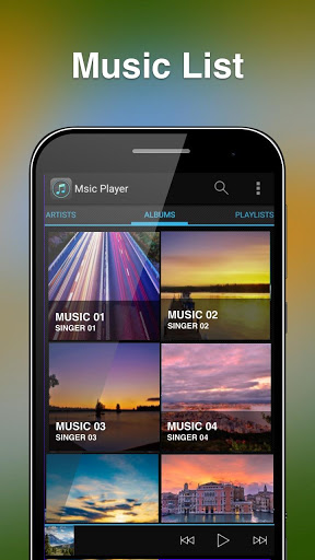 Free Music Player For Android screenshots 1