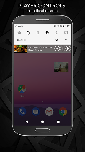 Free Music Player for YouTube Unlimited Songs 1.1.012 screenshots 5
