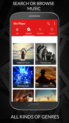 Free Music Player for YouTube Unlimited Songs 1.1.012 screenshots 6