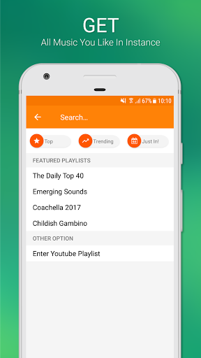 Free Music Unlimited for YouTube Stream Player 3.1.4 screenshots 2