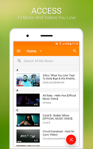 Free Music Unlimited for YouTube Stream Player 3.1.4 screenshots 7