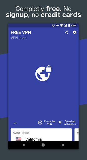 Free VPN – Safe and private browsing on a hotspot 4.2.508 screenshots 1