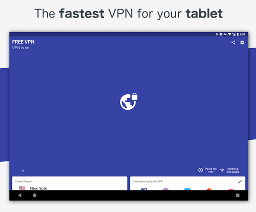 Free VPN – Safe and private browsing on a hotspot 4.2.508 screenshots 12