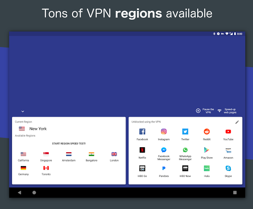 Free VPN – Safe and private browsing on a hotspot 4.2.508 screenshots 13