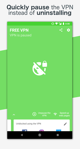 Free VPN – Safe and private browsing on a hotspot 4.2.508 screenshots 5