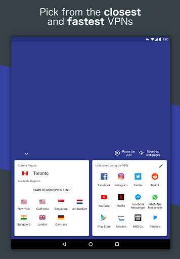 Free VPN – Safe and private browsing on a hotspot 4.2.508 screenshots 8